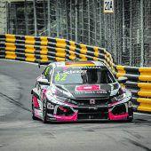 Timo Scheider holt sich einen zweiten Platz in Macau