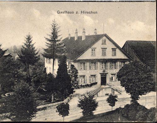 Ein Wirtshaus mit Tradition ist der Gasthof Hirschen.