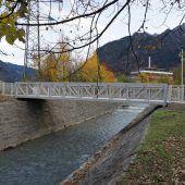 Neue Brücke in Bürs fertiggestellt