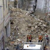 Zwei Gebäude in Marseille eingestürzt