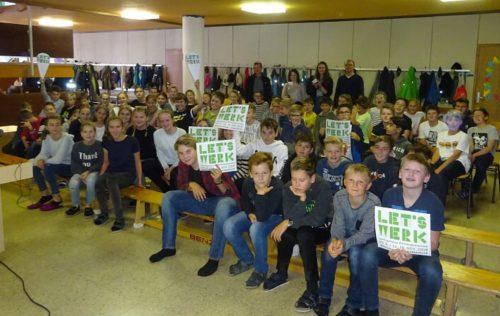 Mit vielen Kontakten und Gesprächen mit der Jugend des Bregenzerwaldes wurde die Veranstaltung in Andelsbuch beworben.