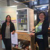 Initiative Offener Kühlschrank: Teilen statt wegwerfen