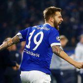 Burgstaller mit Schalke auf Achtelfinalkurs