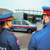Großes Polizeiaufgebot in Bregenz
