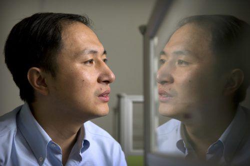 Forscher He Jiankui hat vor dem Genomforscher-Kongress verkündet, dass weltweit erstmals Zwillingsmädchen nach einer Genmanipulation zur Welt gekommen sind. AP