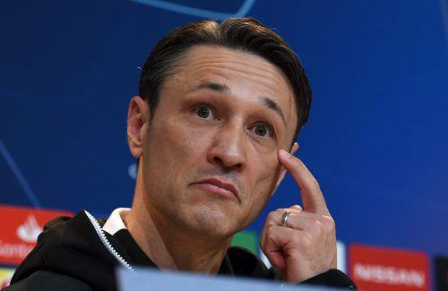 Für Bayern-Trainer Niko Kovac stehenwichtige Spiele an. afp