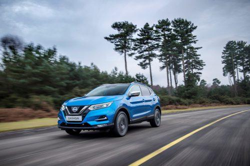 Für den Qashqai bietet Nissan derzeit einen Benziner und einen Diesel in Kombination mit Frontantrieb an. Allrad-Versionen kommen 2019 wieder.