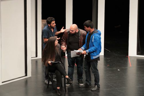 """""""Geh nicht"""", ein Theaterdialog über Entwicklungs-zusammenarbeit und Migration. forumtheater"""
