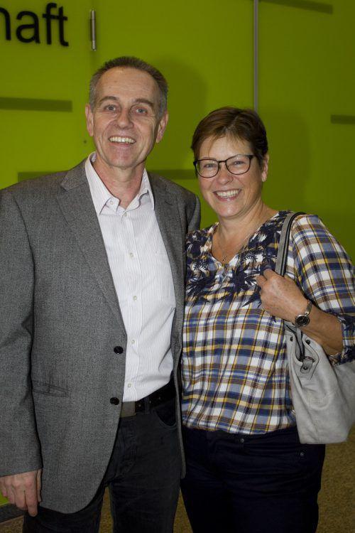 Gemeindeinformatiker Kurt Hofer und Ute Hämmerle (MG Lustenau).