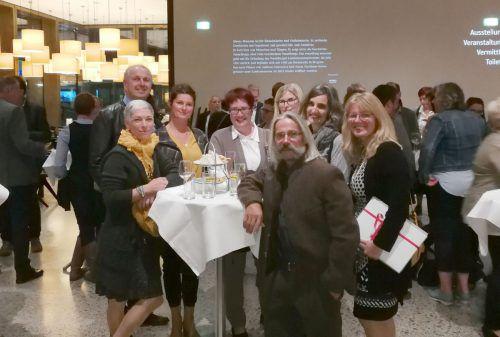 Gemeinderätin Yvonne Böhler (rechts) mit dem Wolfurter familieplus-Team.