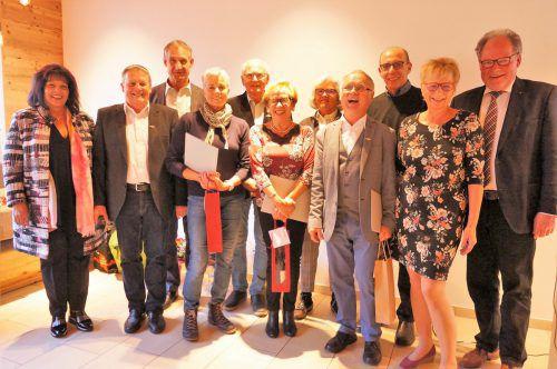 Generalversammlung des Seniorenbundes Ortsgruppe Bregenz am 22. November im Gasthof Lamm.