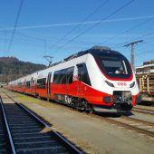 Österreich-Premiere für die neuen Talent-3-Züge