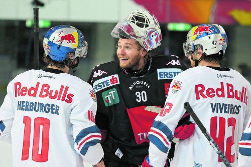 Gut drauf. Torhüter Rene Swette hat einen großen Anteil am aktuellen Erfolgslauf des HC Innsbruck. gepa