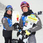 Idealer Start für Snowboardcrosserin einen komprimierten Rennwinter
