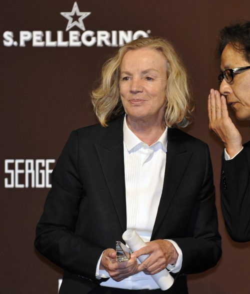 """Heidemarie Jiline alias Jil Sander wurde 2010 mit dem Titel """"Designer of the Year"""" in Tokio ausgezeichnet. AFP"""