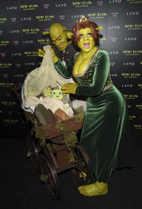 Heidi Klum ist bekannt für ihre aufwendigen Halloween-Kostüme. ap