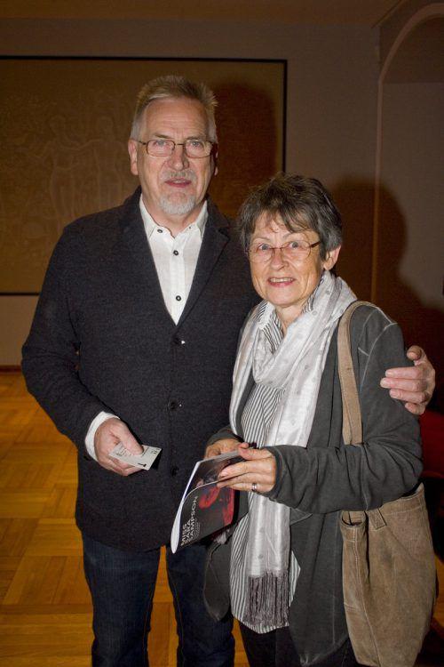 Helga und Hans Waidmann verfolgten die Premiere am Landestheater.