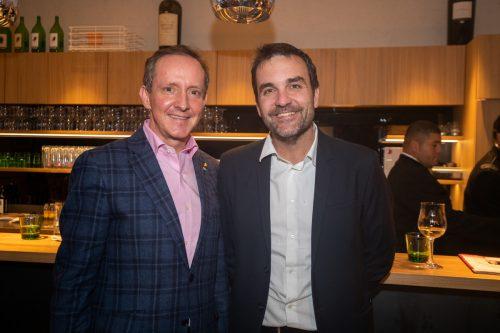 Hotelier mit Chefredakteur: Florian Werner (l.) und Florian Klenk.