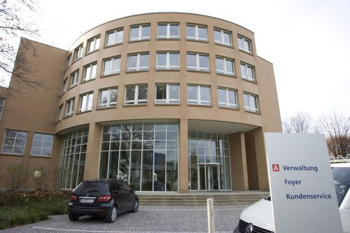Illwerke VKW (im Bild der Hauptsitz in Bregenz) hat in den vergangenen fünf Jahren Abläufe optimiert und das Personal reduziert. VN/HB