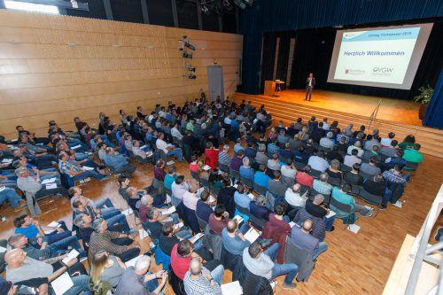 Im Mäderer J.-J-Ender-Saal informierten sich die Wasserexperten des Landes. vlk/HM