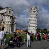 Schiefer Turm mit weniger Schräglage