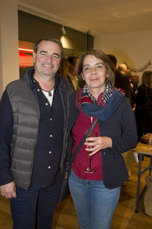 Inneneinrichter Markus Winsauer und Sandra.