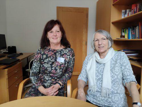 Irmgard Vogt beschäftigt sich unter anderem mit Frauen und Sucht. VN/Haller