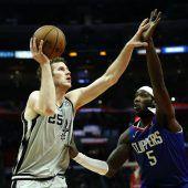 Sechs Punkte von Pöltl bei Spurs-Niederlage