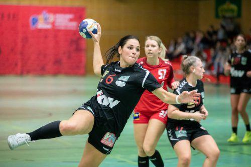 Johanna Rauch glaubt an einen Heimsieg der Schoren-Girls.VN-sams