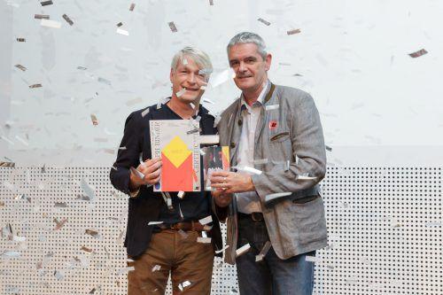 Joseph Binder Award 2018 in Gold: Marco Spitzar (l.) und Helmut Urbanec (Druckerei Bösmüller). Fa/Madzigon