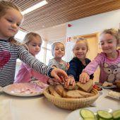 Frisches Frühstück in den Kindergarten