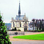 Die Hubertuskapelle in Amboise