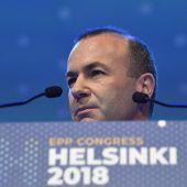 EVP will Manfred Weber als künftigen EU-Kommissionschef