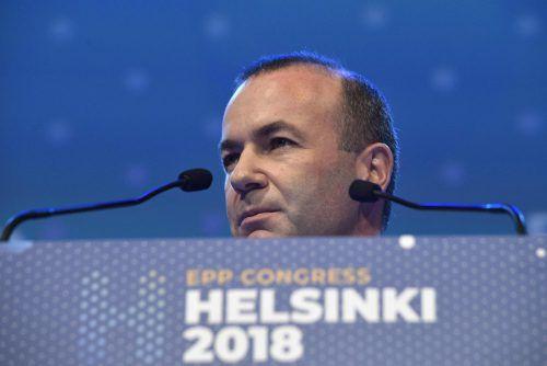 Manfred Weber ist EVP-Spitzenkandidat bei der Europawahl 2019. afp