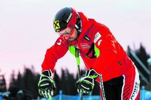 Marcel Hirscher konzentriert sich in Beaver Creek ganz auf den Riesentorlauf.gepa