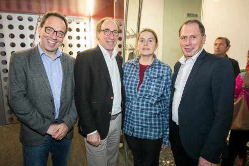 Markus Amann, LR Johannes Rauch, Katharina Lins und Josef Moosbrugger.