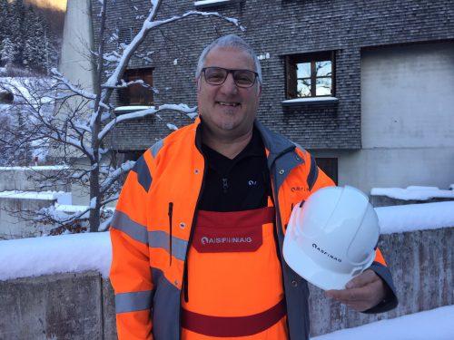 Martin Bachmann, Asfinag-Stützpunktleiter in Langen am Arlberg. VN/GS