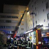 Tödlicher Brand in Klinik
