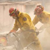 Weiterhin 80 Vermisste nach Flächenbrand in Kalifornien