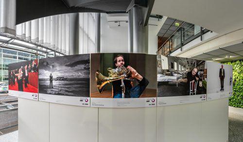 Mit dem Künstlerporträt von Felix Klieser kam Oliver Lerch in die Reihe der ausgezeichneten Fotografen. Stiplovsek