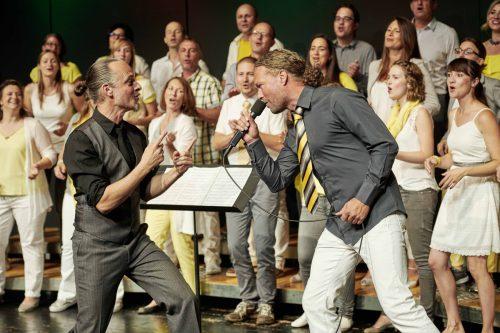 Mit den Konzerten am Sonntag stimmt der Gospelchor SingRing musikalisch auf den Advent ein.singring