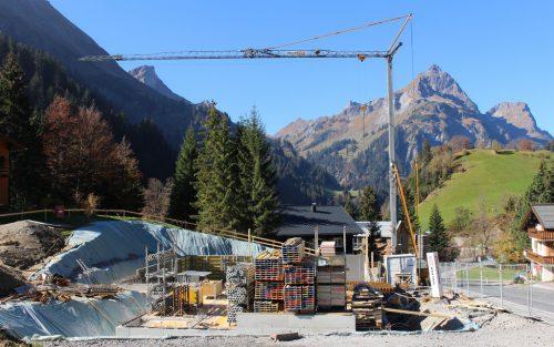 Mit der Kleinwohnanlage der Vogewosi hält gemeinnütziger Wohnbau jetzt auch in der Walsergemeinde Schröcken Einzug. STRAUSS