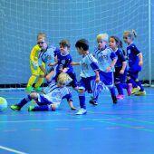 König Fußball Sieger bei den Bambinis