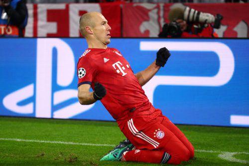 Mit zwei Toren in der Startphase sorgte Arjen Robben dafür, dass der FC Bayern schnell in die Siegspur fand.Reuters