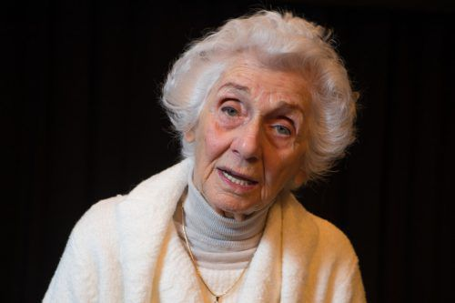 """Nach Auschwitz fragte sich Eva Fahidi: """"Und wo war Gott?""""  VN/Hartinger"""