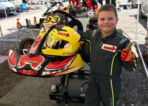 Nachwuchsfahrer Dominik Beller gehört in seiner Klasse zu den schnellsten.Verein