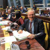 Sonderegger neuer Vizepräsident der Kammer der Regionen