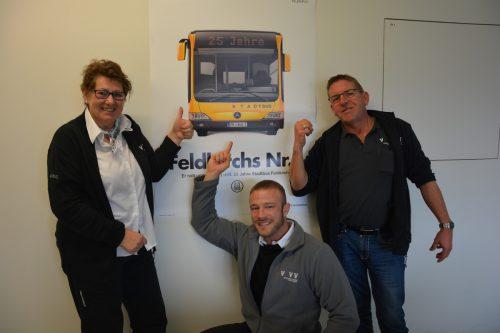 """Niggbus erhielt bereits im vergangenen Jahr den Award """"Bester Arbeitgeber Vorarlbergs 2017"""" in der Kategorie 51 bis 100 MitarbeiterMarion Hofer, Oliver Lerch"""