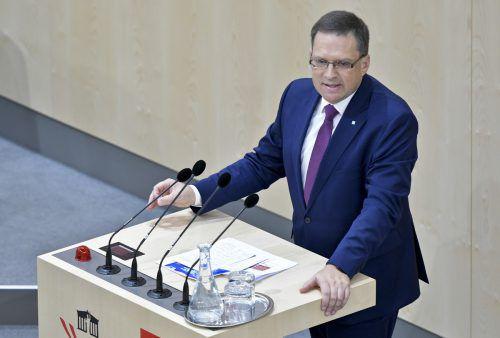 ÖVP-Klubobmann Wöginger kündigte ein hartes Vorgehen an. APA