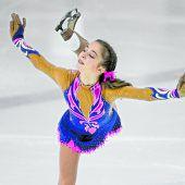 Olga Mikutina war in Riga eine Klasse für sich
